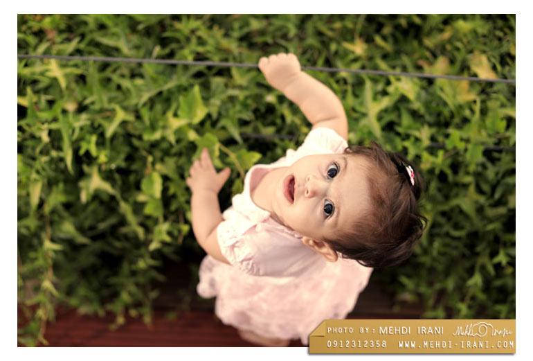 بهترین عکاس کودک و نوزاد در تهران